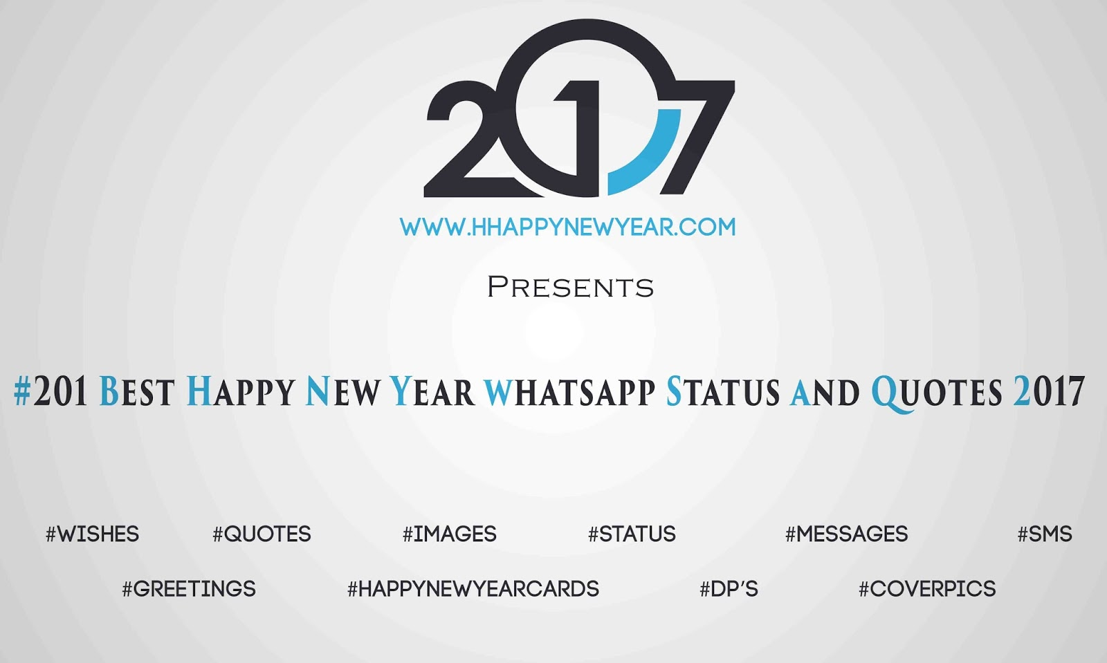 201 Best Happy New Year whatsapp Status and Quotes 2017 - Happy New ...