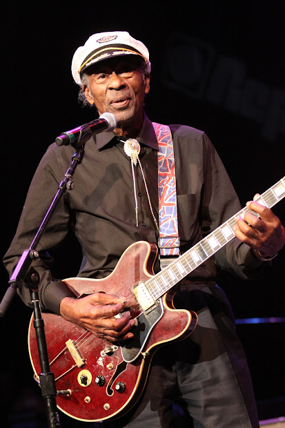 Cleveland Magazine Chuck Berry Performs Honored American Music Master
