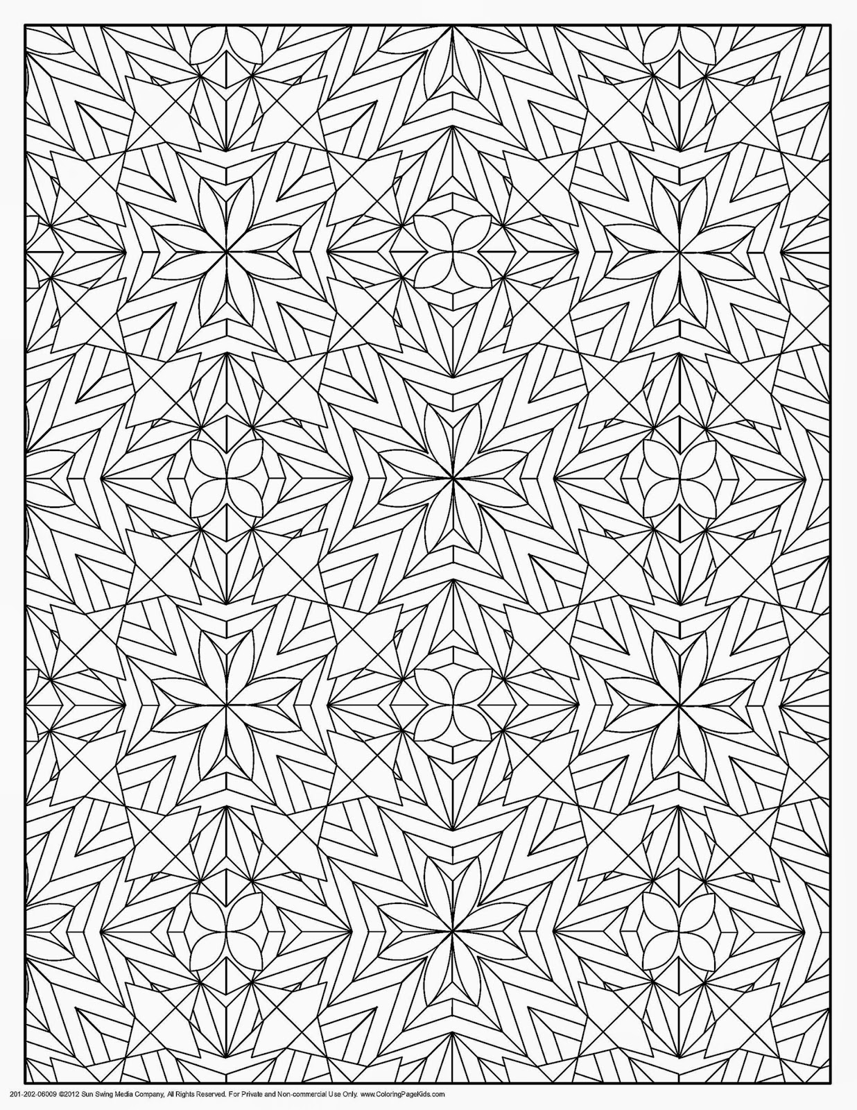 Pin by Anati Landau on דגמי אלתר   Geometric Patterns Coloring Pages…
