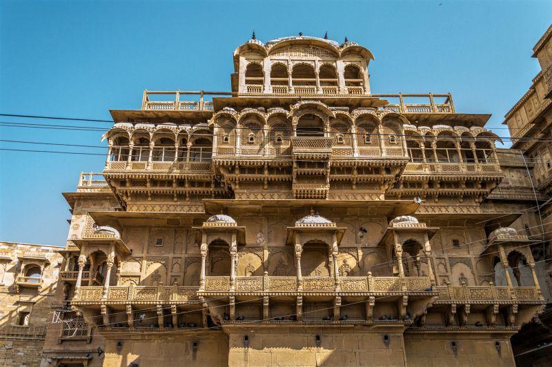 Raja Ka Mahal -- Jaisalmer Fort Jaisalmer
