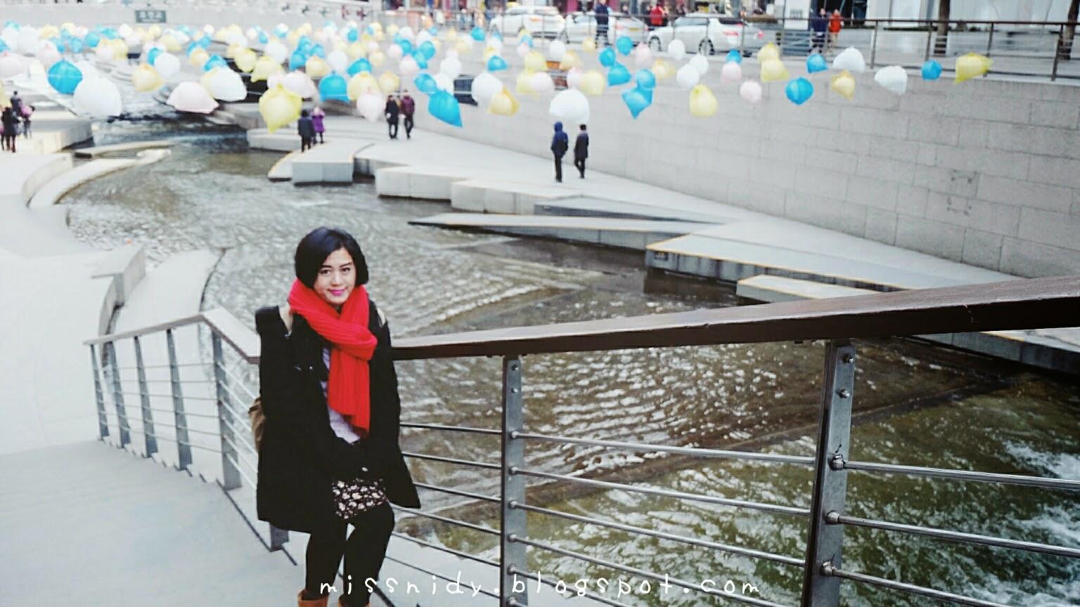 cara menuju cheonggyeochon stream