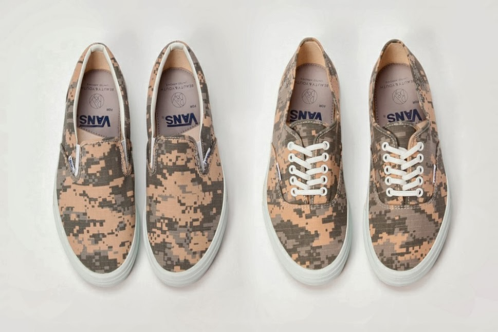 UNITED ARROWS  BEAUTY   YOUTH imprint has teamed up with Vans again this  spring for a successor of sorts to last year s pack of Harris Tweed-constructed  ... d70f75cf3d