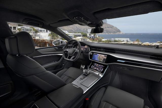 Novo Audi A7 2019 - interior