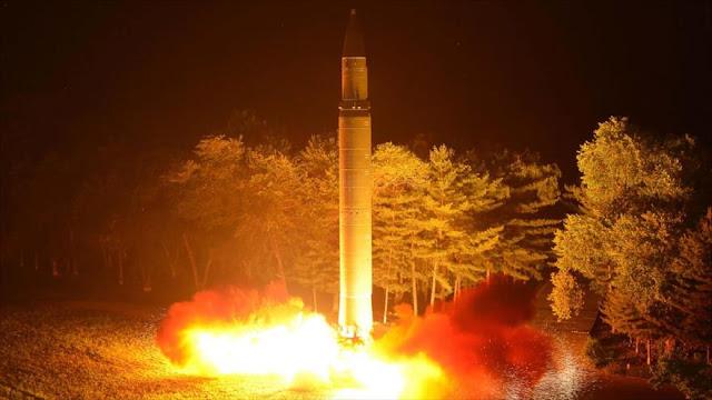 Corea del Norte, lista para lanzar hoy mismo misiles contra EEUU