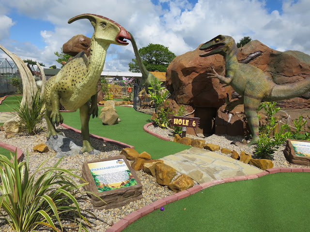 Dinosaur Encounter at Heighley Gate Garden Centre Morpeth Image