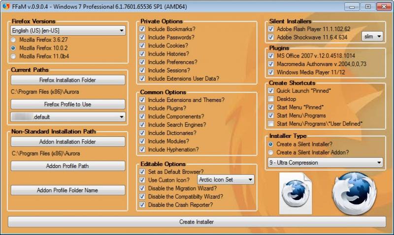 Firefox Versions