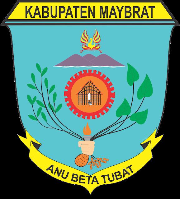 Logo Kabupaten Maybrat Vector Logo CorelDraw (CDR)