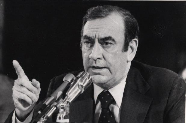 New York Governor Hugh Carey
