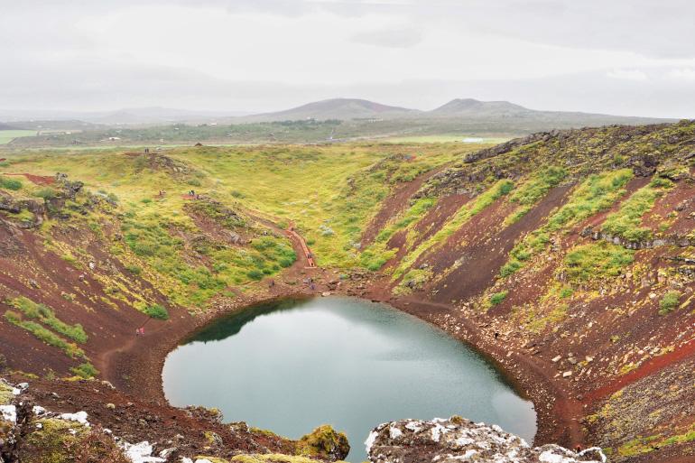 Cratère de Kerið en Islande