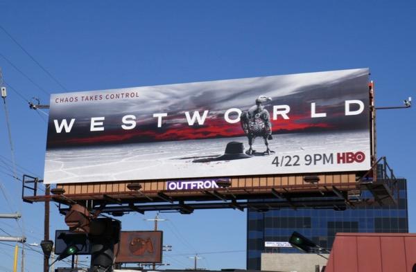 Westworld season 2 billboard