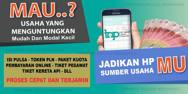 Agen Kuota Pulsa Murah PT Topindo Solusi Komunika
