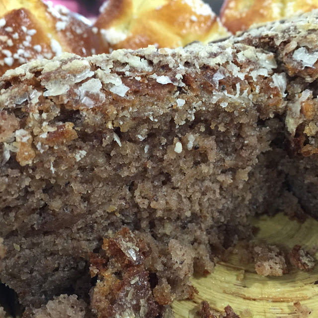 Cake noisettes et crème de marrons