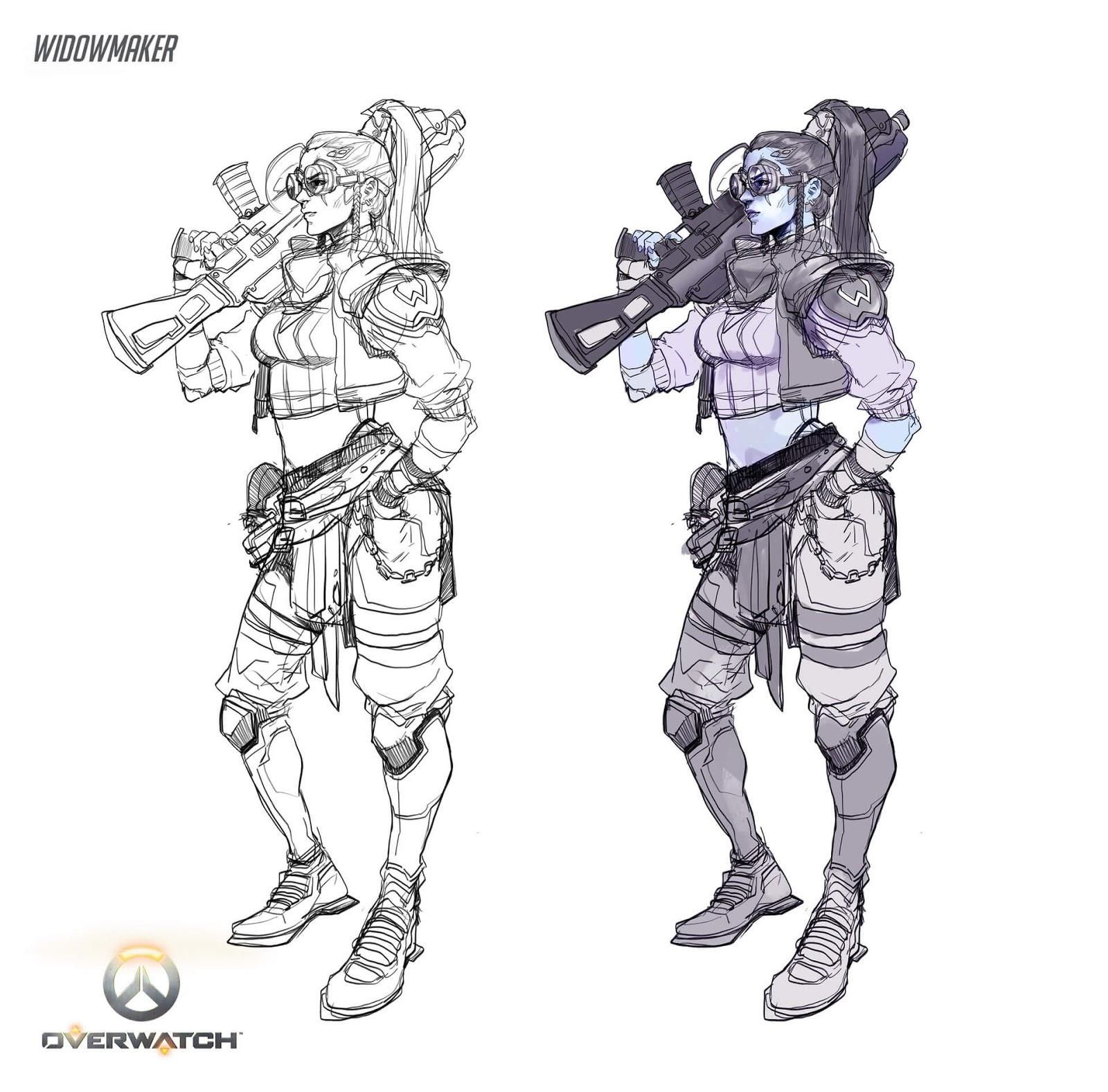 Gunner Widowmaker by Hicham Habchi