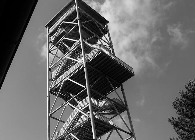 Elbblickturm Wildpark Schwarze Berge
