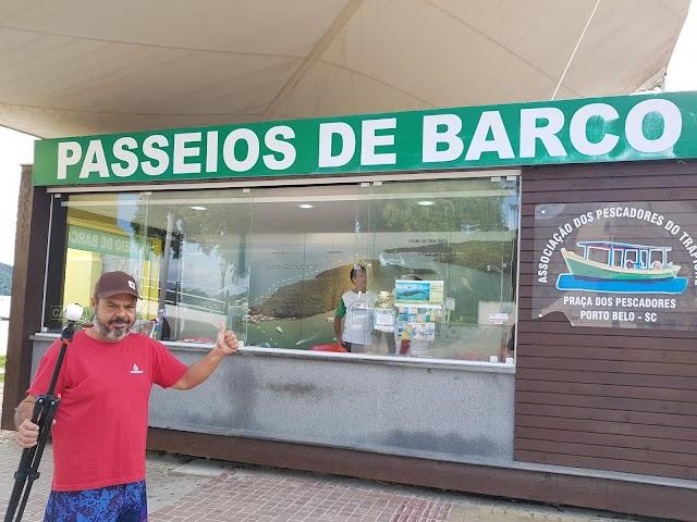 Passeios de barco em Porto Belo