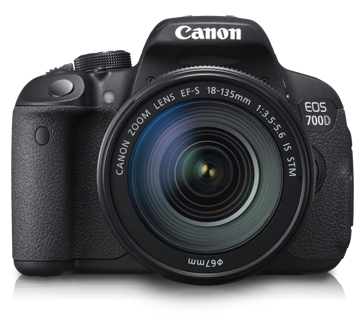 EOS 700D Kit II (EF S18-135 IS STM)