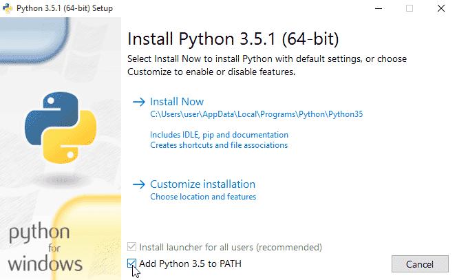 Office Python: OP101 - Python Installation