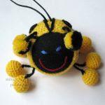 patron gratis mariquita amigurumi | free amigurumi pattern ladybug