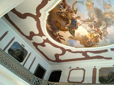 Palazzo Fulcis, la sala da ballo