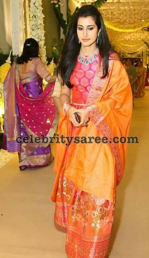 Brahmani Nara at Anindith Reddy Wedding