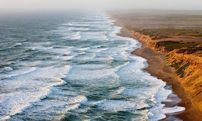 خلفيات طبيعية  امواج