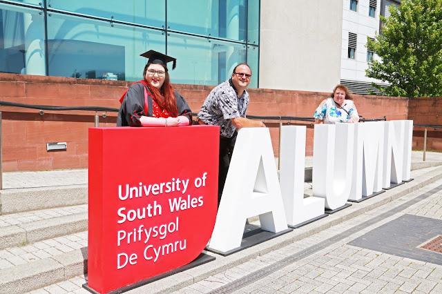 University of South Wales Bachelors Graduation Cardiff Atrium Campus BA photojournalism