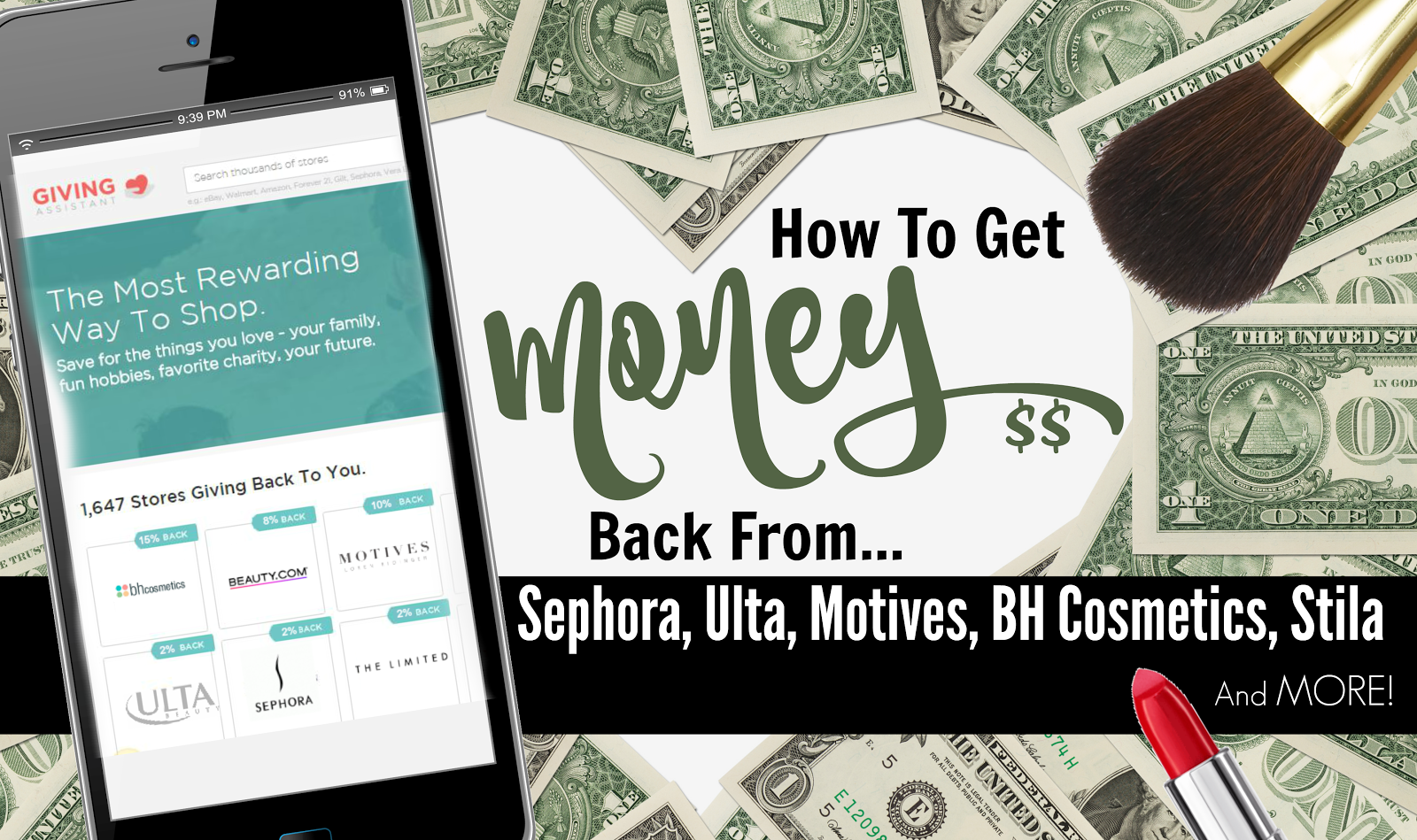 How To Get Money Back From Sephora, Motives, BH Cosmetics, Ulta ...