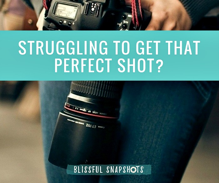 Struggling To Get That Perfect Shot? Here's What You Need To Know
