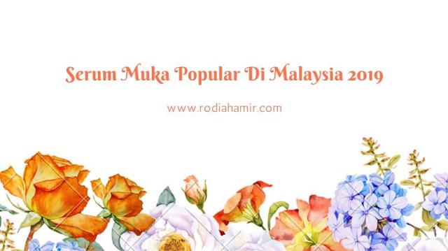 Serum Untuk Kulit Berjerawat & Berjeragat Popular Di Malaysia 2019