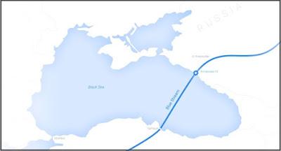 """Нафтогаз має намір відсудити пакет акцій Газпрому у """"Блакитному потоці"""""""