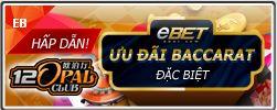 Săn tiền thưởng Baccarat tại 12Opal Club