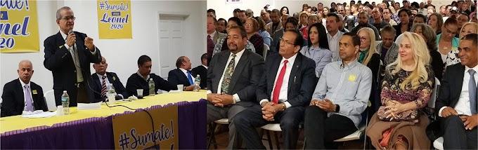 Almeyda encabeza masivo acto en NJ  del movimiento #Súmate en apoyo a candidatura de Leonel
