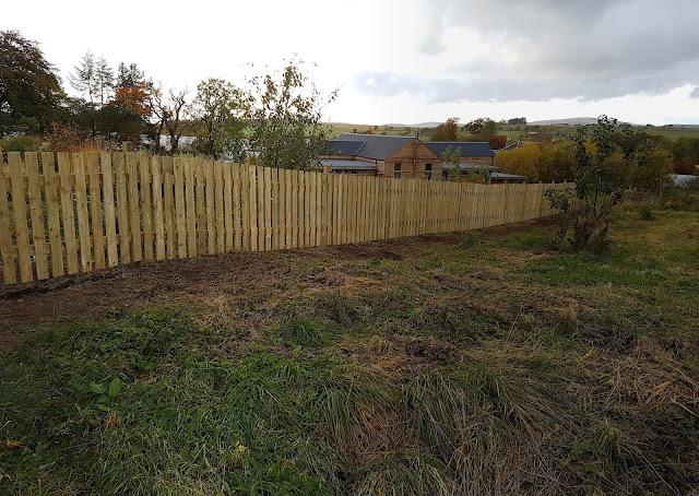 new nursery fence