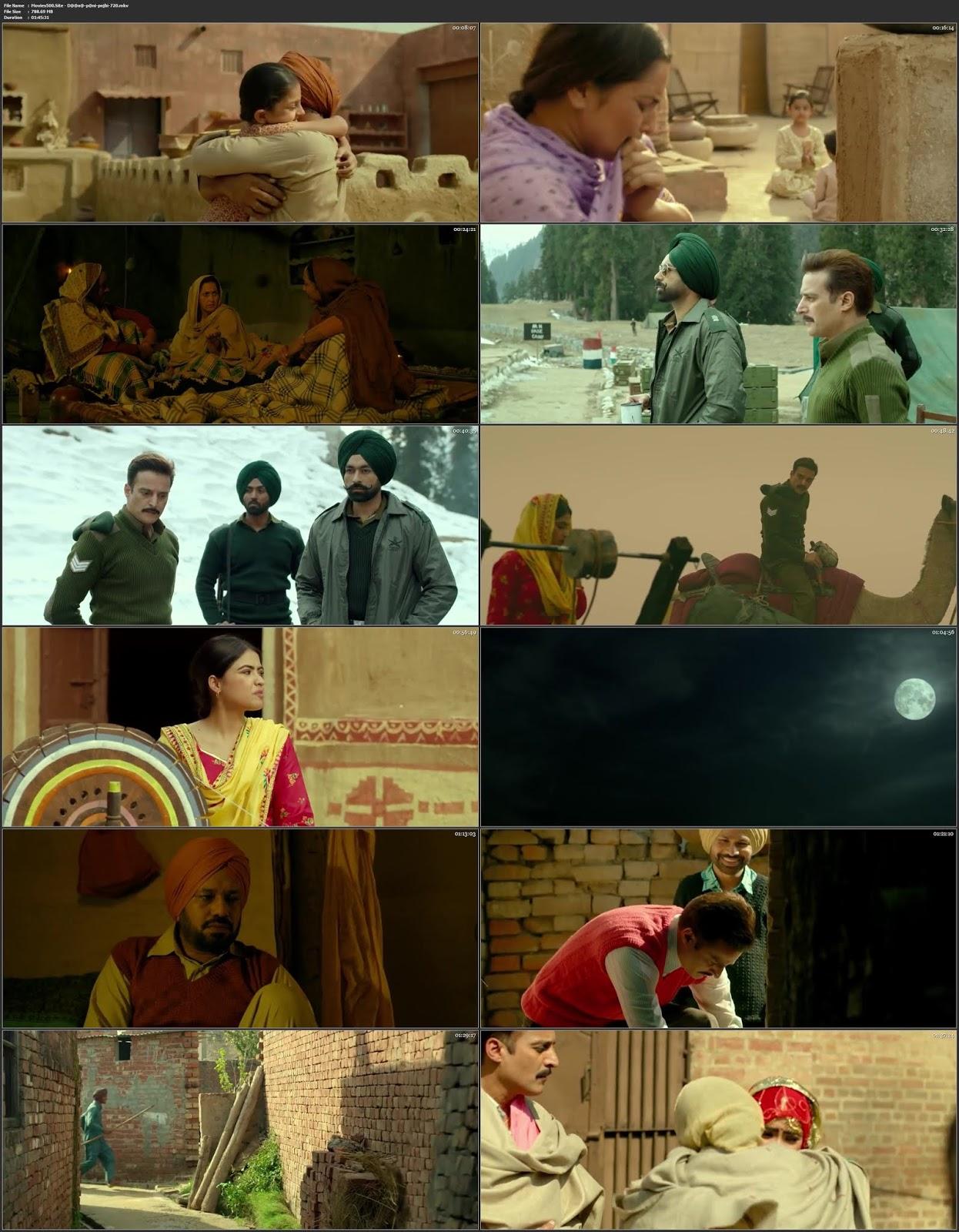 Daana Paani 2018 Punjabi 300MB Movie WEB DL 480p