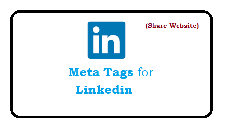 How to add Meta Tags for Linkedin | Web Technology Experts Notes