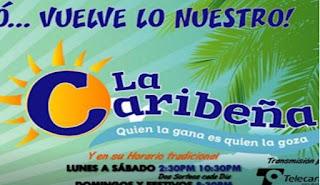 Caribeña Dia domingo 16 de diciembre 2018