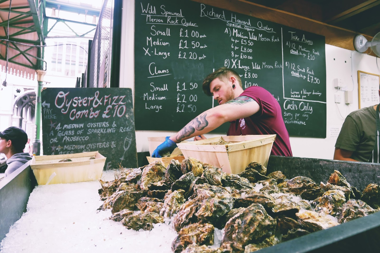 Richard Haward Oyster, Borough Market, London