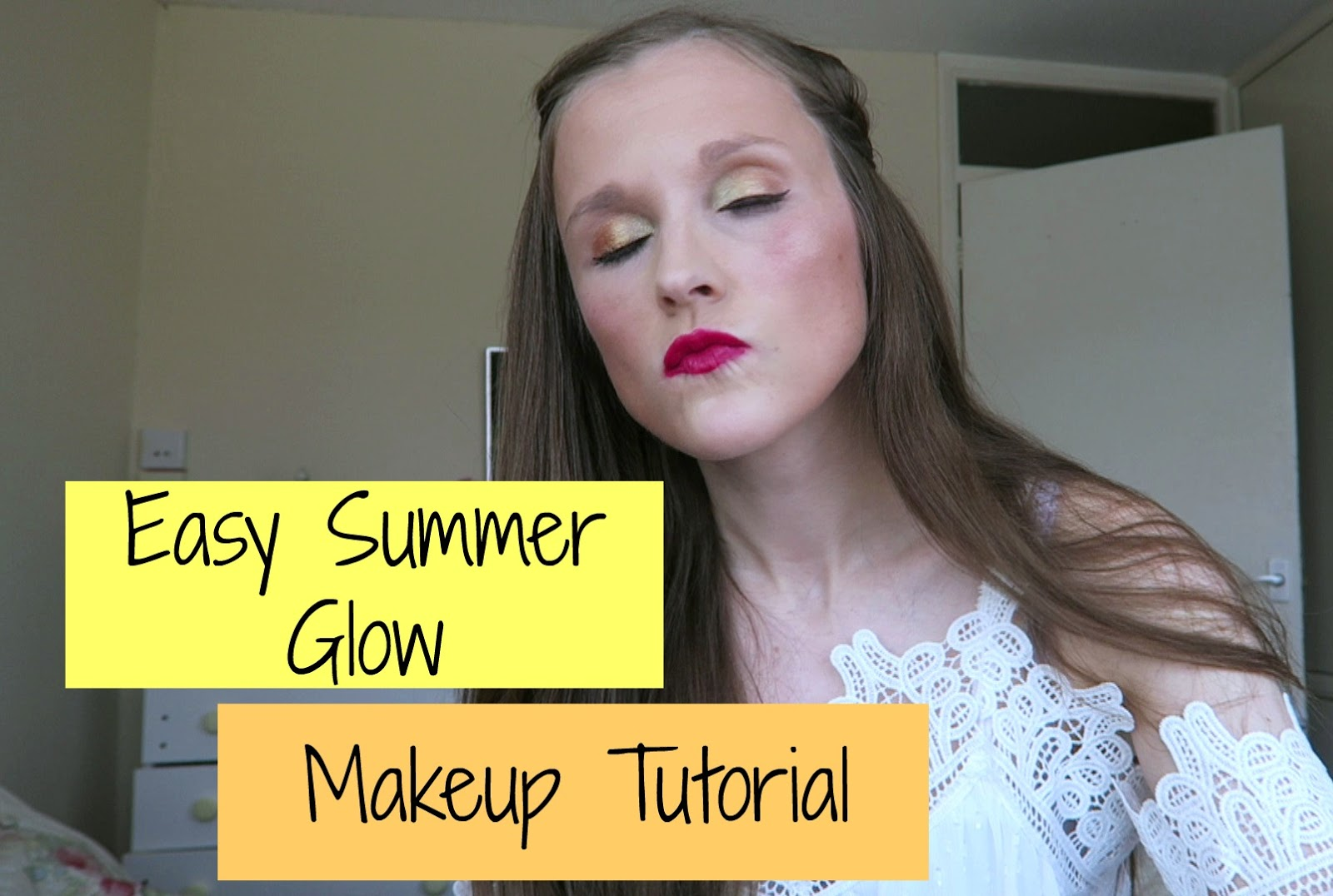 easy summer glow makeup tutorial