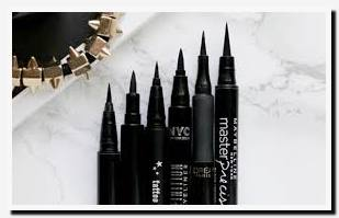 best drugstore felt tip eyeliner uk