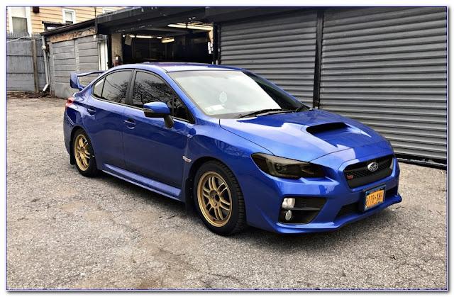 2016 Subaru WRX WINDOW TINT