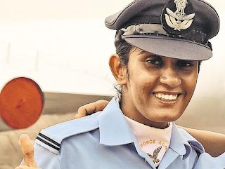 Mohana Singh becomes Country's First Woman Fighter