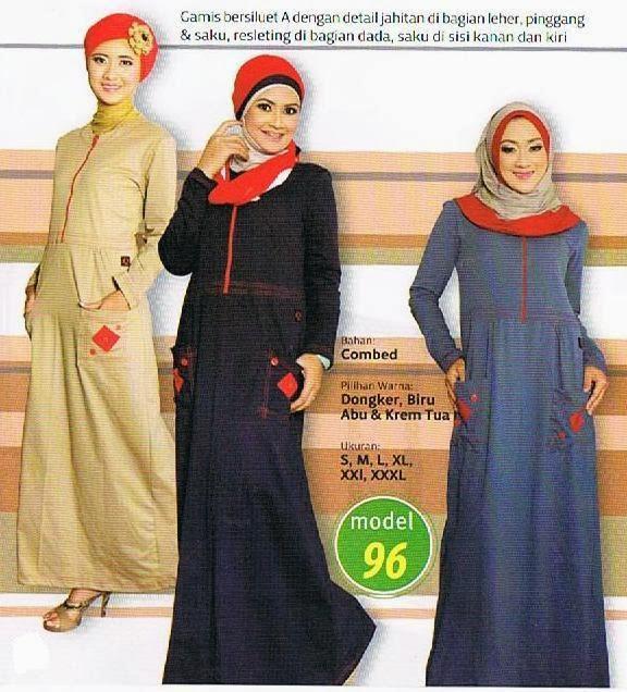 Butik Asa Gamis Dewasa Qirani Katalog Desember