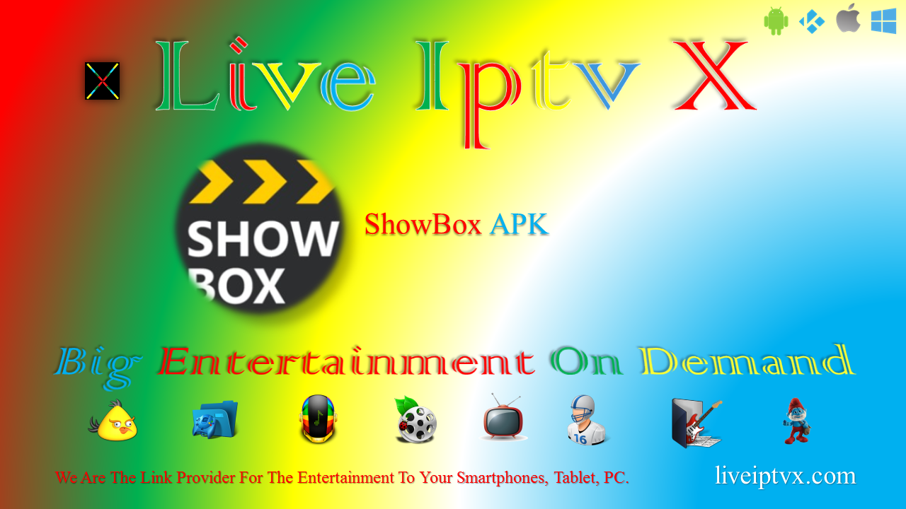 ShowBox v5 01-108 APK For Stream Movies, Download Movies And