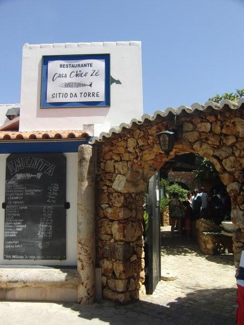 Restaurante Algarve para comer sardina Casa Chico Ze