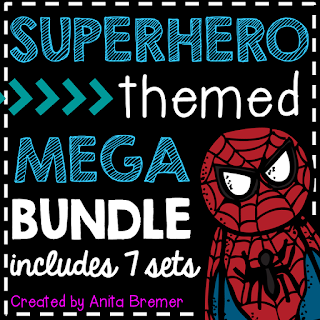 Over 200 pages of Superhero Themed activities and classroom decor!