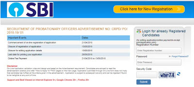SBI 2000 Probationary Officers (POs) 2018 Recruitment Notification www.sbi.co.in