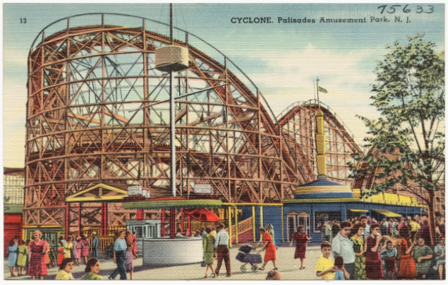 The CYCLONE Roller Coaster