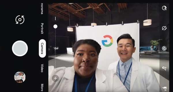grup selfie cam google pixel 3