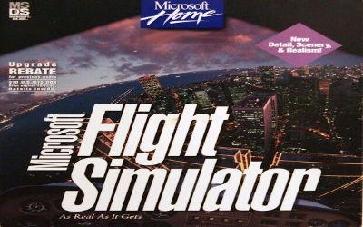 Microsoft Flight Simulator (V5.0) - Jeu Simulateur de Vol sur PC
