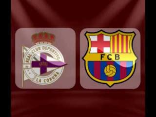 مباشر مشاهدة مباراة برشلونة وديبورتيفو لاكورونا بث مباشر 29-4-2018 الدوري الاسباني يوتيوب بدون تقطيع